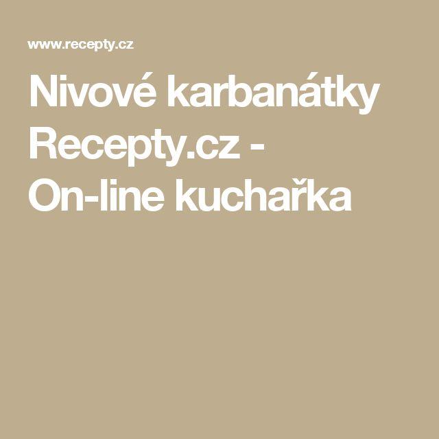 Nivové karbanátky Recepty.cz - On-line kuchařka