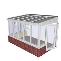 Aireación en parte superior - Lean-to Conservatory Prices - lean to conservatories