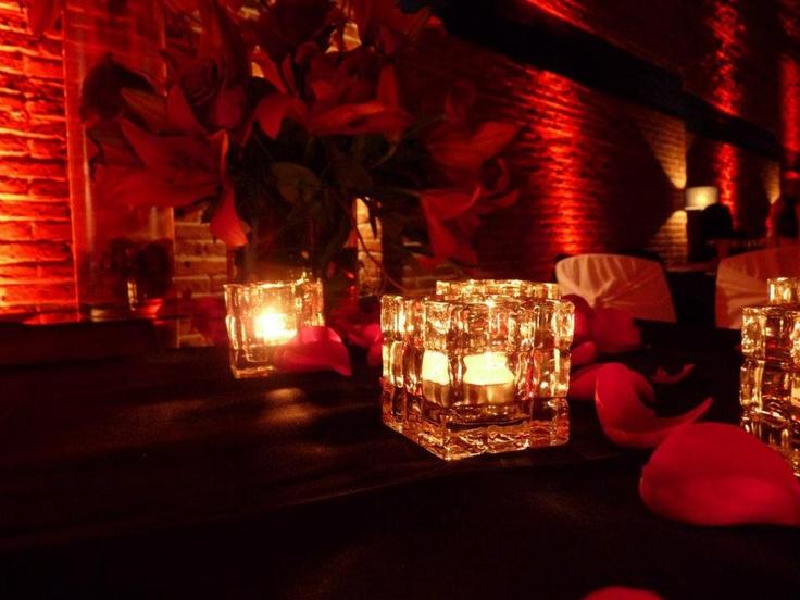 Rosas y velas