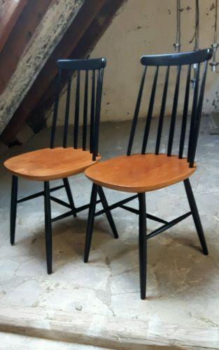 Ilmari Tapiovaara 50s 60s Chairs*Danish Organic Design*2 Set!Mid Century! in Antiquitäten & Kunst, Design & Stil, 1950-1959, Mobiliar & Interieur | eBay