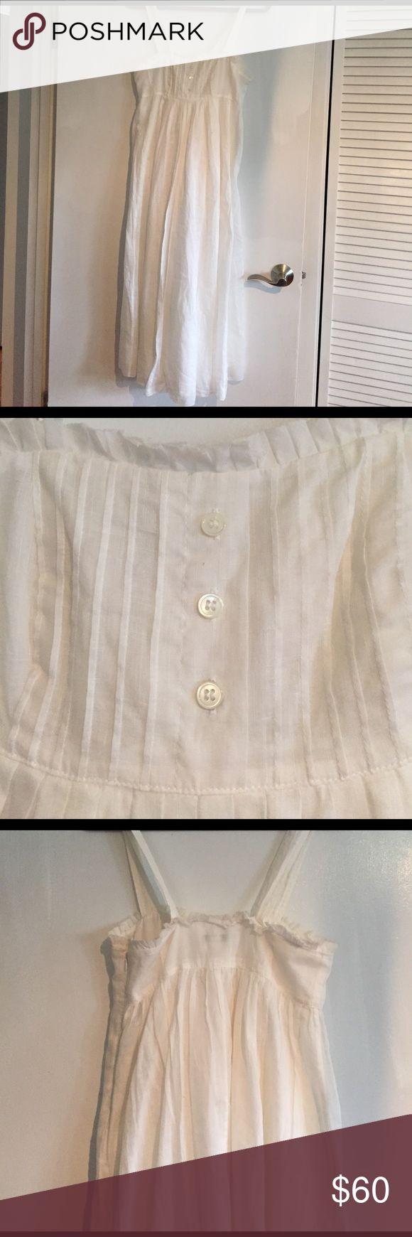 Beautiful cotton summer dress by J.Crew J.crew Summer Dress, worn once as wedding dress. J. Crew Dresses Maxi
