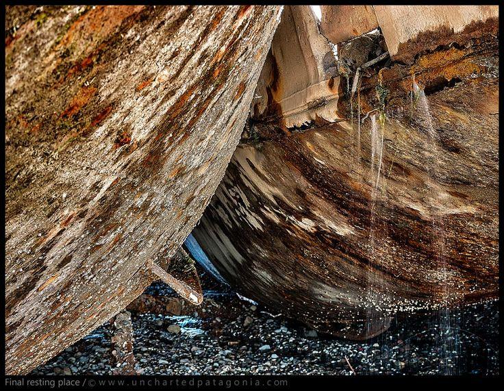 Lugar final de descanso - Barcos abandonados
