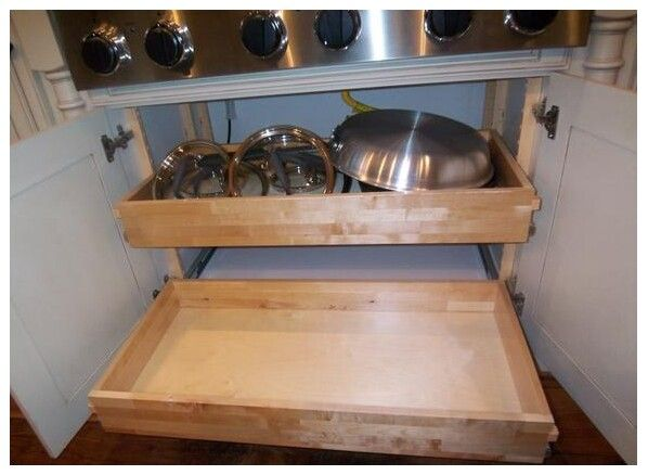 QuikTRAY Rollout All in One Shelf Kit QuikTRAY & QuikDrawer Rollout Kit [QT.kit] : QuikDrawers - Your DIY Cabinet Door and Drawer Resource, Custom cabinet doors, replacement cabinet doors, finished or painted cabinet doors, oak cabinet doors and cabinet hardware since 2006