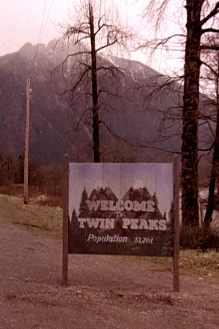 The place where fire walks with him. Twin Peaks. '90.