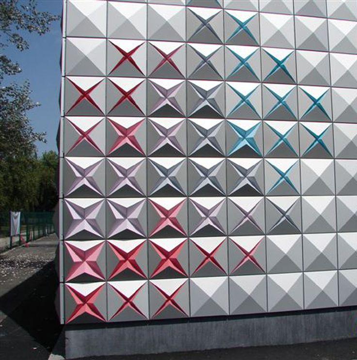 brisac gonzalez architects vivifies techno prisme storage depot in aurillac, france