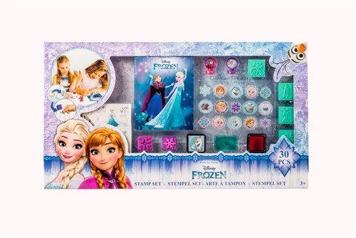 Mooie Kleurplaten Frozen.Disney Frozen Stempelset 30 Delig Een 30 Delige Stempelset In Het