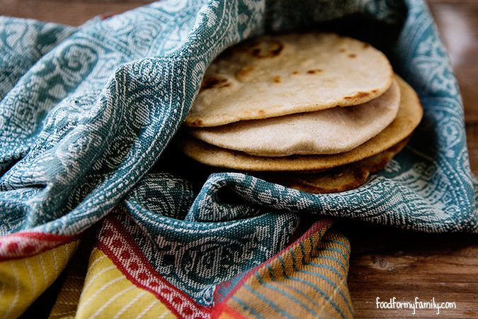 How to Make Chapati via @Shaina Pagani Olmanson | Food for My Family (Ghee is optional or use a vegan butter.)