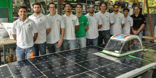 Estudiantes del Recinto Universitario de Mayagüez exhiben su carro solar (vídeo)
