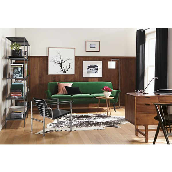 Slim Bookcases in Natural Steel - Bookcases & Cubbies - Entryway - Room & Board