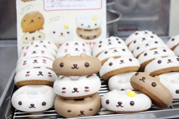 Ikumimama's Animal Donuts-Good reference for my future donuts
