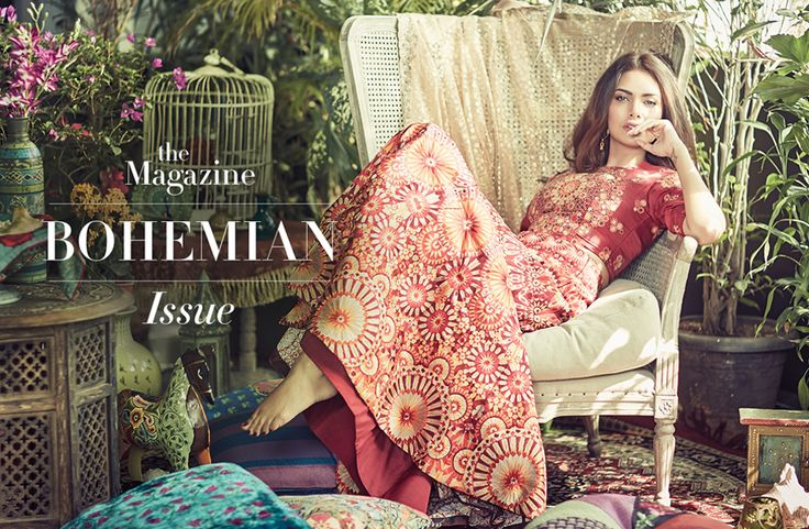 BOHEMIAN ISSUE WITH ESHA GUPTA We're welcoming Indian summer with a bohemian desire. A desire translated in our cover story with the ethereal Esha Gupta. Ultra-luxurious yet effortlessly laid-back, the indian hippie mood is here to stay.