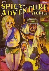 prada eyeglasses Spicy Adventure Stories July 1935