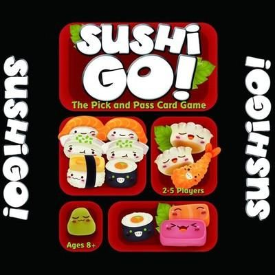 [Visit to Buy] sushi go the pick and pass card game full English version  board game high quality for kids family fun #Advertisement