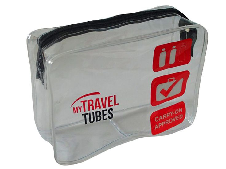 tsa approved airline carryon clear travel toiletry bag men women kids