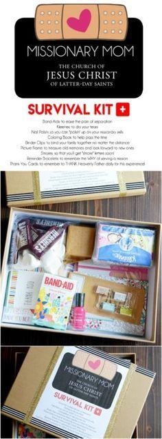 DIY Missionary Mom Survival Kit Printable