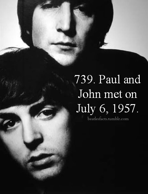 The pair chatted for a few minutes, and McCartney showed Lennon how to tune a guitar - the instruments owned by Lennon and Griffiths were in G banjo tuning. McCartney then sang Eddie Cochran's Twenty Flight Rock and Gene Vincent's Be-Bop-A-Lula, along with a medley of songs by Little Richard. (The Beatles Bible)