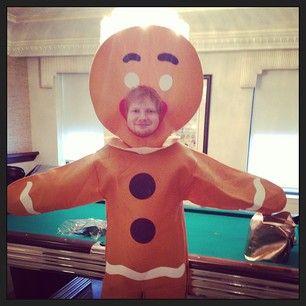 Ed Sheeran. | 50 Celebrities Who Embraced Halloween This Week