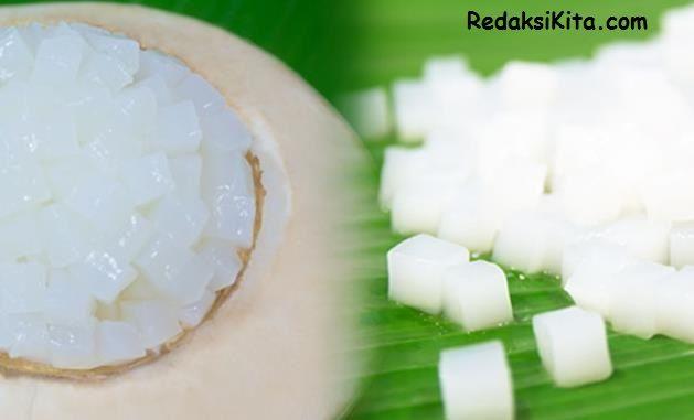 Cara Membuat Nata De Coco - Nata De Coco adalah Makanan seperti Jeli hasil fermentasi dari air kelapa menggunakan acetobacter xylium sebagai bibit Nata. visit  http://www.redaksikita.com/cara-membuat-nata-de-coco.html