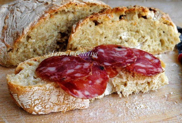 Come fare il pane senza impasto veloce e buono vickyart arte in cucina