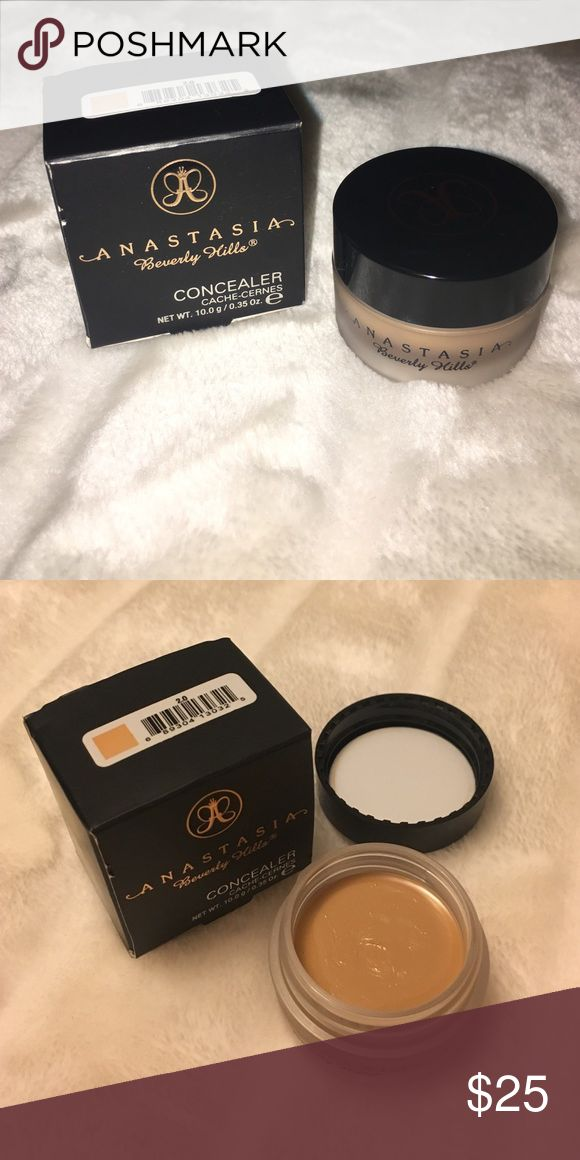 Anastasia concealer 2.0 Brand new, only swatched. Shade is 2.0 - warm; ideal for medium skin with peach undertones. Anastasia Beverly Hills Makeup Concealer