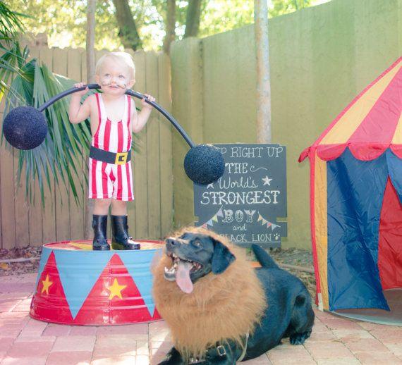 Toddler Boy Wrestling Singlet Strong Man Costume 2t 3t by Leotots