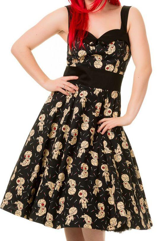 The Violet Vixen - Voodoo Magic Dress, $83.00 (http://thevioletvixen.com/clothing/vodoo-magic-dress/)