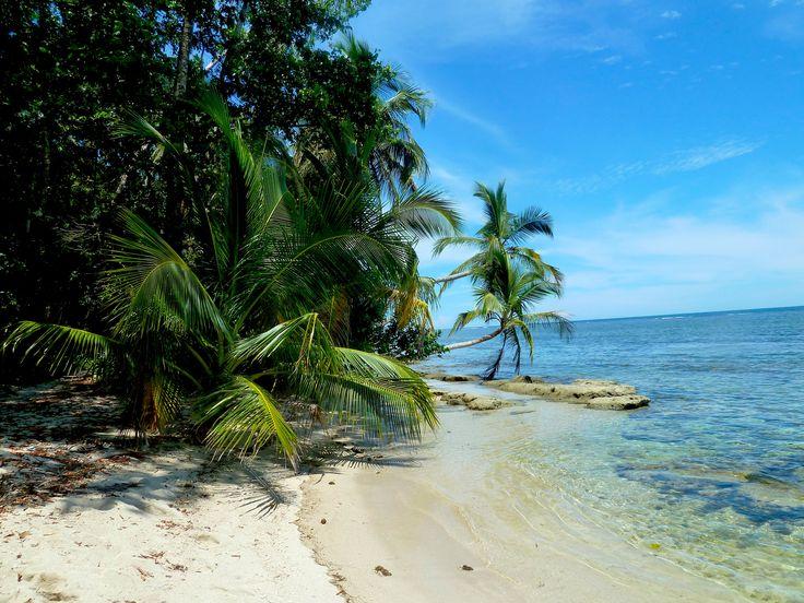 Postkartenmotiv: Der #Strand im Nationalpark #Cahuita