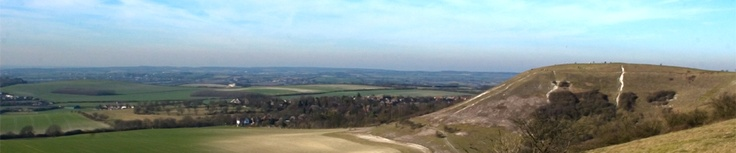 Dunstable Downs in Bedfordshire - highest point in east of England
