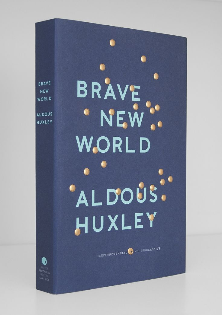 Brave New World by Aldous Huxley (design by Milan Zrnic)