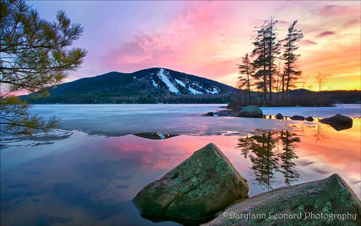 Shawnee Peak, Maine.