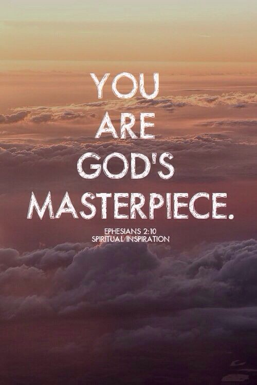 Good Morning Lovelies!  A loving reminder!  Don't follow the crowd. Don't try to be like anyone else. Do be you! Be who and what you were created for!  Love to remind my lil girl that she was wonderfully created! She is GOD's MASTERPIECE and so are YOU! For we are God's masterpiece. He has created us anew in Christ Jesus, so we can do the good things he planned for us long ago. (Ephesians 2:10 NLT) #knowtheword #knowyourmaker #youareGodsMasterpiece #masterpiece #knowyourworth