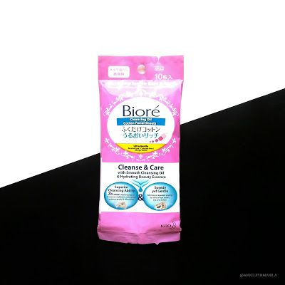 Biore Cleansing Oil Cotton Facial Sheets | Makeup in Manila
