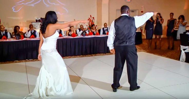 Ashley Richmonds Hochzeit fand bereits 2011 statt, doch noch Jahre später ist ihr Vater-Tochter-Tanz noch immer ein viraler Hit ...