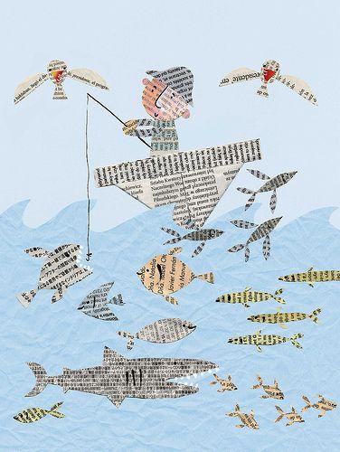 newspaper-fish2 | Flickr - Photo Sharing!
