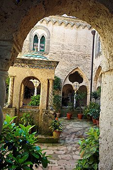 Villa Cimbrone, Ravello, Amalfi coast. Campania, Italy