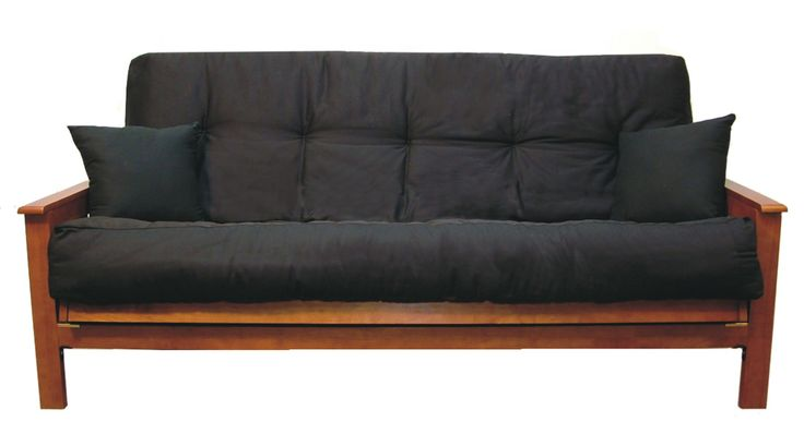 Experience a great night's sleep with this modern futon mattress by Vitality. Featuring four layers of 1.5-inch thick foam and filled with cotton, the mattress offers comfortable durability. The spill-resistant microsuede finish is easy to keep clean.