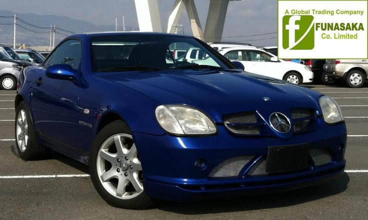 Blue Mercedes Slk 230 soon for sale