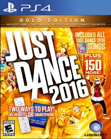 emagge-emagge: Just Dance 2016( Gold Edition )  – Wii