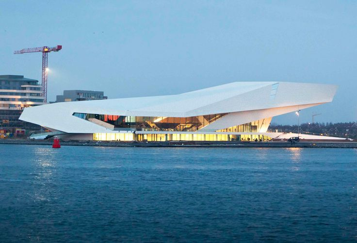 Eye Filmmuseum, Amsterdam by Delugan Meissl Associated Architects
