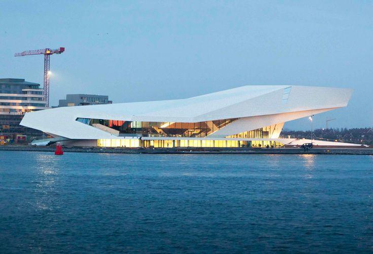 Eye Filmmuseum, Amsterdam by Delugan Meissl Associated Architects