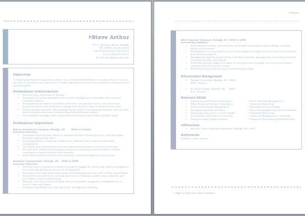 Audit Associate Resume resume sample Pinterest Sample resume - associate accountant sample resume
