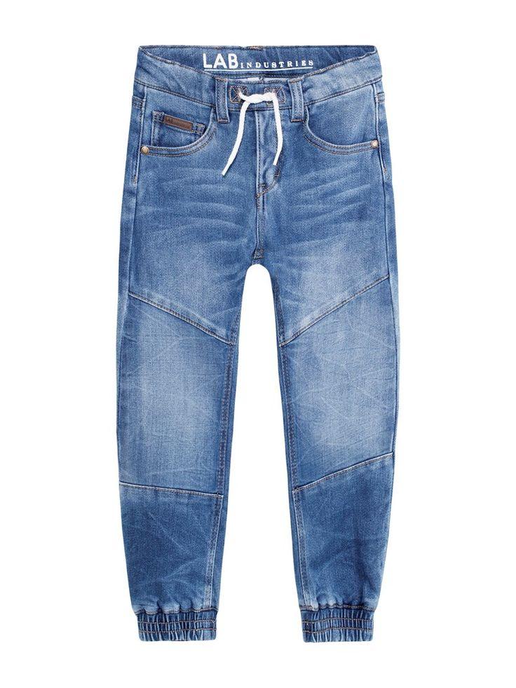 Tough knee jeans loose fit, Sininen, Kids - KappAhl 116