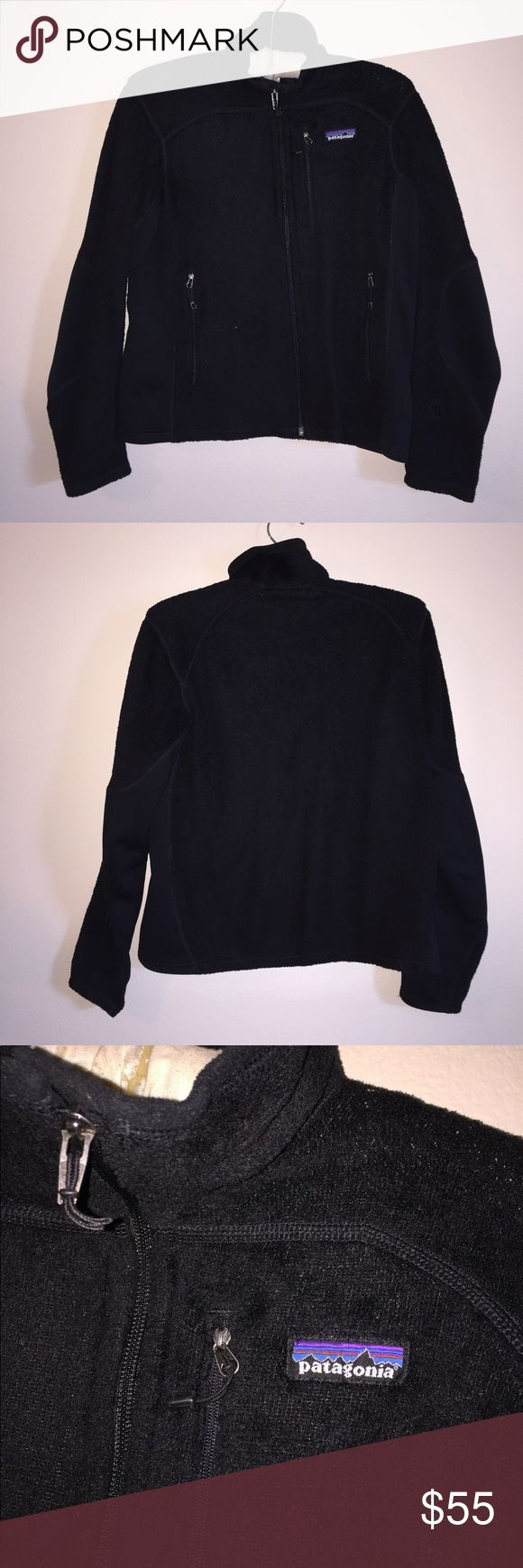 Patagonia Polar Tec Fleece Zip Up Size S, good condition. Shows faint signs of wear. Color is black.  Feel free to ask any questions! No trades sorry, & offers thru the offer button only!x... Patagonia Jackets & Coats