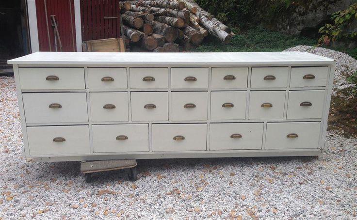 Köpmansdisk Lådfack från 1930-talet på Tradera.com - Antika möbler |