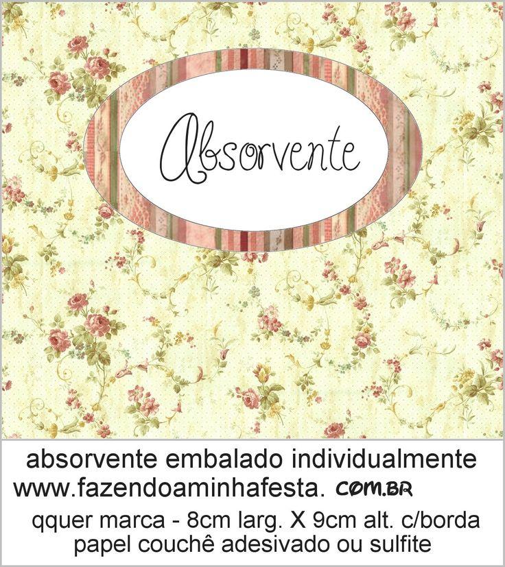 Kit Toalette - Vintage Floral