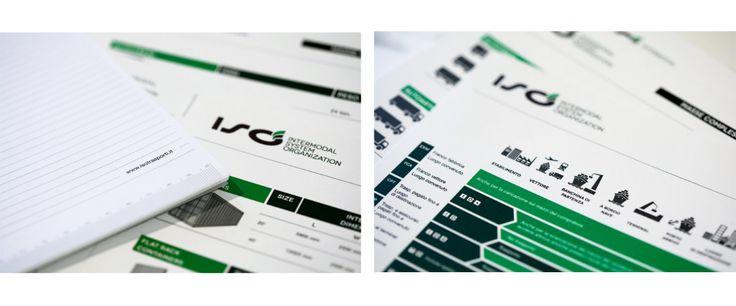 ISO Intermodal System Organization brand identity