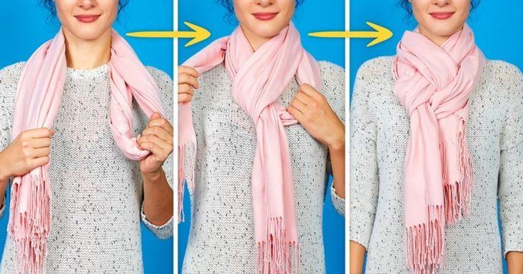 8Maneras decompletar tu 'look' con una bufanda opashmina