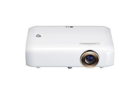 LG PH550G Ultra Portabler LED Projektor weiß
