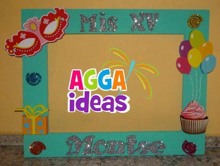 Xv años | ,fiesta 15-18 AÑOS | Pinterest | Años, Cuadros para fotos ...