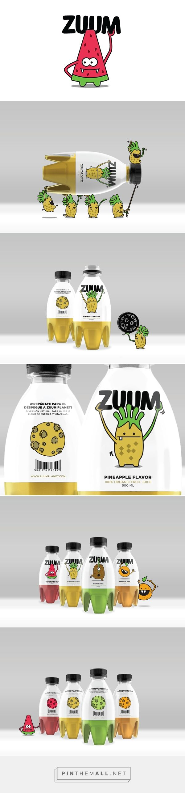 Organic juices · ZUUM on Behance curated by Packaging Diva PD. Your daily packaging smile : )